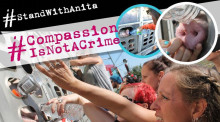 Compassion is NOT a crime. I stand with Anita.